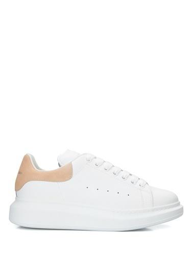 Alexander McQueen Alexander McQueen Oversize   Kadın Deri Sneaker 101611826 Pembe